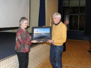 De winnaar van de eerste prijs, Theo Wouda (© AFV Fivelfoto)