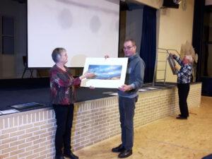 De winnaar van de tweede prijs, Jaap Groeneveld (© Willy van der Laan)